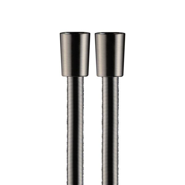 Flessibile Inox Molla Spazzolato 150cm, Coni Ottone Nickel spazzolato