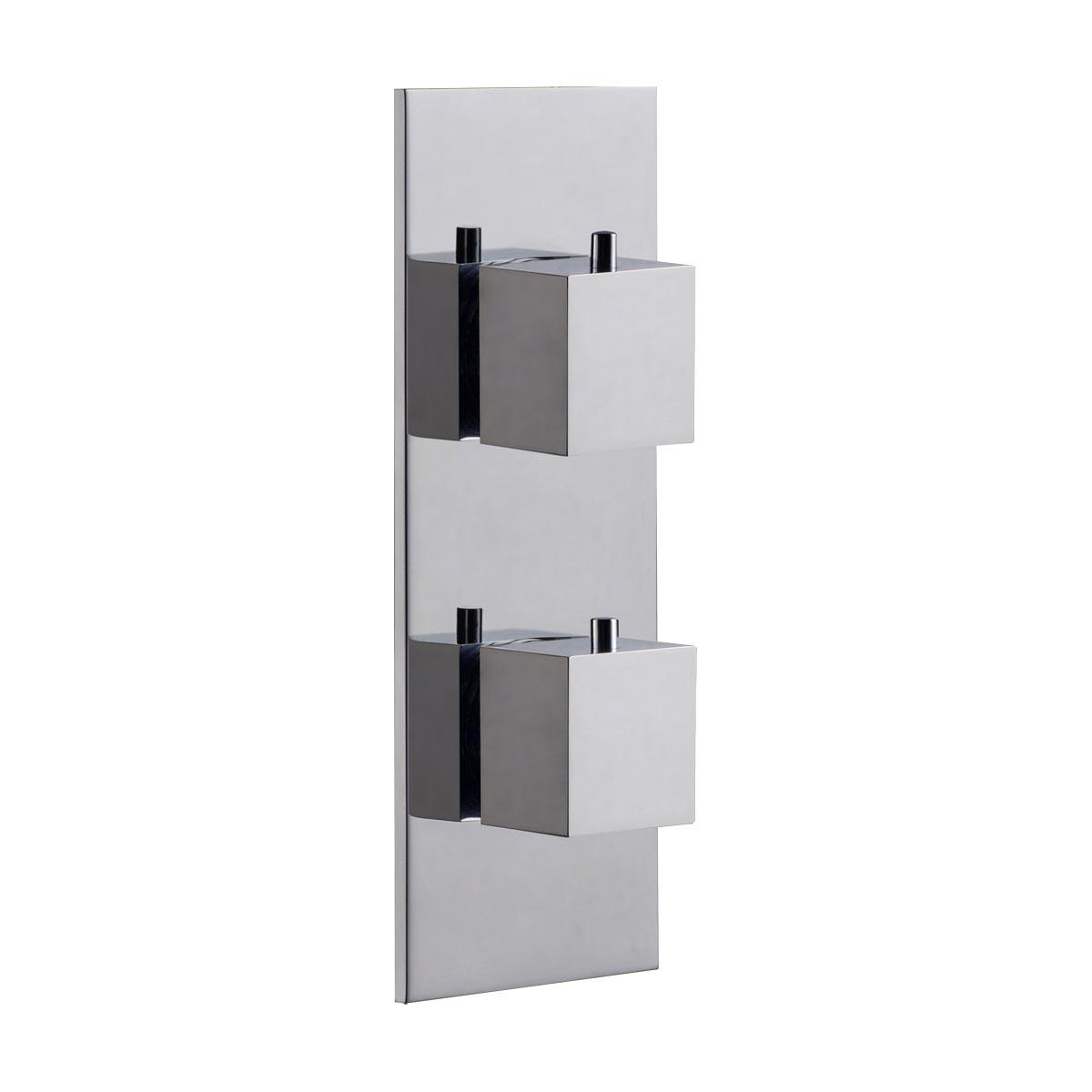 Parte esterna quadro termostatico verticale